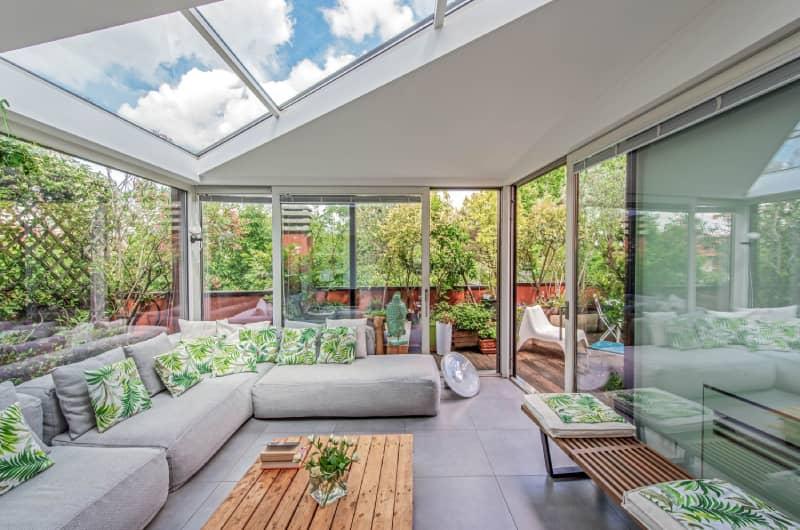VISS roof glazing curtain-walls